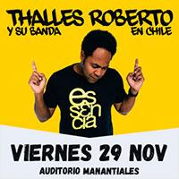 Thalles Roberto En Chile Auditorio Manantiales - San Bernardo