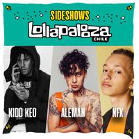 Kidd Keo + Alemán + NFX Sala Omnium - Las Condes