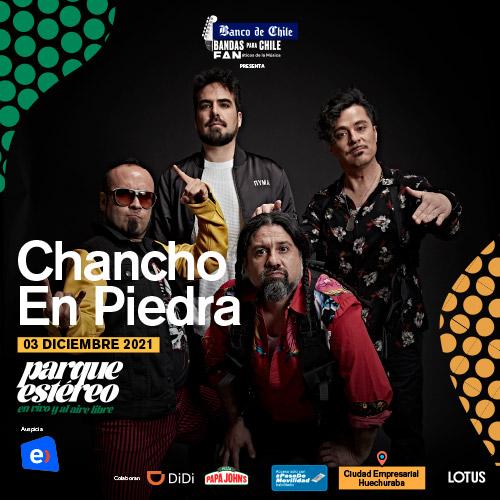 Chancho en Piedra Parque Estéreo - Huechuraba