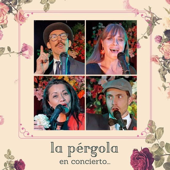 La Pérgola En Concierto Streaming Punto Play - Santiago