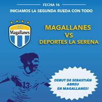Deportes Magallanes vs. Deportes La Serena Estadio Municipal de San Bernardo - San Bernardo
