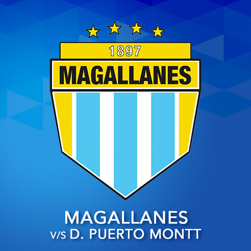 Magallanes vs. Deportes Pto. Montt Estadio Municipal de San Bernardo - San Bernardo