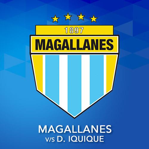 Magallanes vs. Deportes Iquique Estadio Municipal de San Bernardo - San Bernardo