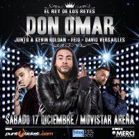 Don Omar Movistar Arena - Santiago