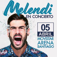 Melendi Movistar Arena - Santiago