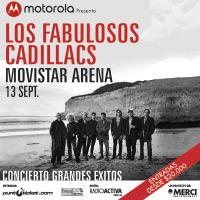 Los Fabulosos Cadillacs Movistar Arena - Santiago