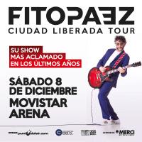 Fito Páez Movistar Arena - Santiago