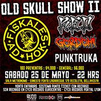 Old Skull Show II Sala Metrónomo - Santiago
