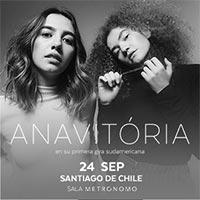 Anavitória Sala Metrónomo - Santiago
