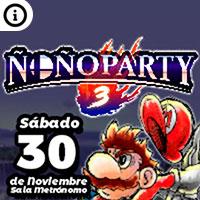 ÑOÑOPARTY 3 Sala Metrónomo - Santiago
