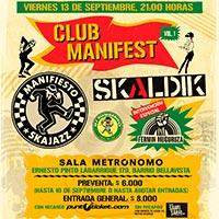 Club Manifest Vol. 1 Sala Metrónomo - Santiago