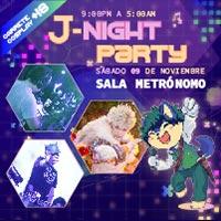 J- Night Party Sala Metrónomo - Santiago