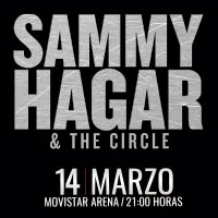 Sammy Hagar and The Circle Movistar Arena - Santiago