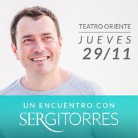 Encuentro con Sergi Torres Teatro Oriente - Providencia