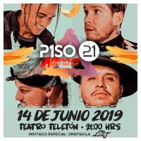 Piso 21 en Concierto Teatro Teletón - Santiago