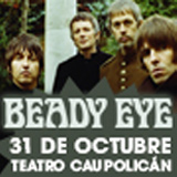 Beady Eye Industria Cultural / Cueto 1470 - Santiago