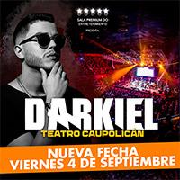 Darkiel Teatro Caupolicán - Santiago