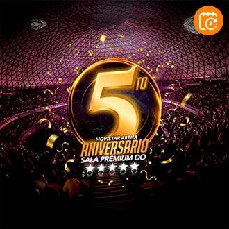 5to Aniversario Sala Premium DO Movistar Arena - Santiago