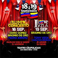 Super Concierto Teatro Caupolicán - Santiago