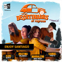 Desatinadas, El Regreso Enjoy Santiago - Los Andes