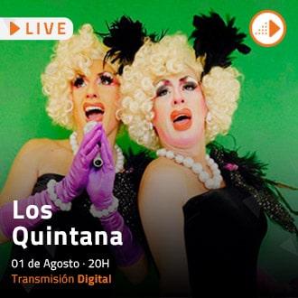 """Los Quintana presentan """"Quintanadas"""" Streaming - Santiago"""