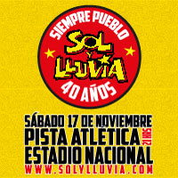 Sol y Lluvia Pista Atlética, Estadio Nacional - Santiago