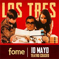 Los Tres Teatro Coliseo - Santiago