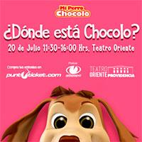 ¿Dónde está Chocolo? Teatro Oriente - Providencia