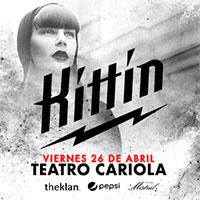 Miss Kittin Teatro Cariola - Santiago