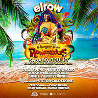 Elrow, Triangulo de las Rowmudas Expocenter - Espacio Riesco - Santiago