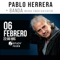 Pablo Herrera + Banda Enjoy Pucón - Pucón