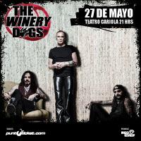 The Winery Dogs Teatro Cariola - Santiago