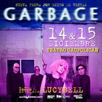 Garbage Teatro Caupolicán - Santiago