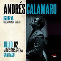 Andrés Calamaro Movistar Arena - Santiago