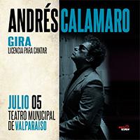 Andrés Calamaro Teatro Municipal de Valparaíso - Valparaíso