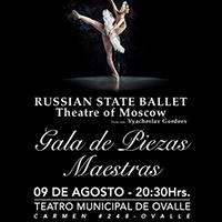 Ballet Nacional de Rusia Teatro Municipal de Ovalle - Ovalle