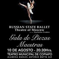Ballet Nacional de Rusia Teatro Municipal de Copiapó - Copiapó