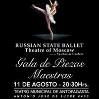 Ballet Nacional de Rusia Teatro Municipal de Antofagasta - Antofagasta