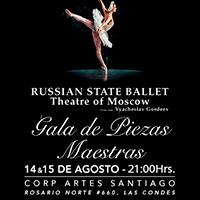 Ballet Nacional de Rusia Teatro CorpArtes - Las Condes