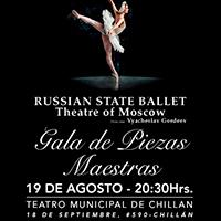 Ballet Nacional de Rusia Teatro Municipal de Chillán - Chillán
