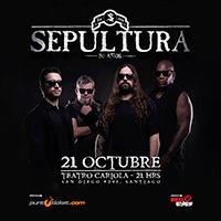 Sepultura Teatro Cariola - Santiago