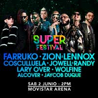 Super Festival Movistar Arena - Santiago