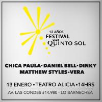 Festival Club Quinto Sol Teatro Alicia - Lo Barnechea