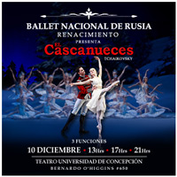 Ballet Cascanueces Teatro Universidad de Concepción - Concepción
