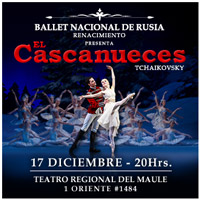 Ballet Cascanueces Teatro Regional del Maule - Talca