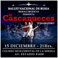 Ballet Cascanueces Coliseo Monumental de La Serena - La Serena