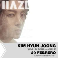 Kim Hyun Joong Teatro Coliseo - Santiago