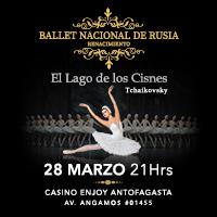 Ballet Nacional de Rusia Renacimiento Enjoy Antofagasta - Antofagasta