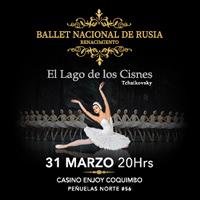 Ballet Nacional de Rusia Renacimiento Enjoy Coquimbo - Coquimbo