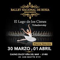 Ballet Nacional de Rusia Renacimiento Enjoy Viña del Mar - Viña del Mar
